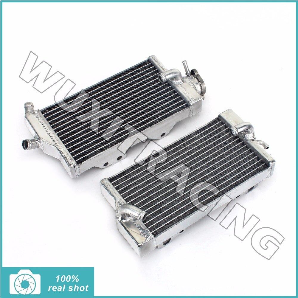 2pcs aluminium alloy core mx offroad bike motorcycle parts radiators cooler cooling fit for honda cr250