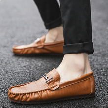 New 2018 Spring Men Loafers Outdoor Breathable PU Leather Casual Shoes Fashion Lazy Flats Moccasins  5