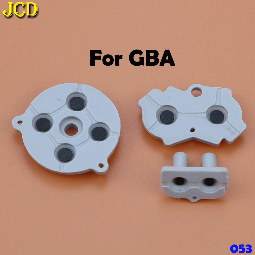 Image 4 - JCD Rubber Conductive Button A B D pad for Game Boy Classic GB GBC GBP GBA SP For 3DS NDSL NDSI NGC Silicone Start Select Keypad-in Replacement Parts & Accessories from Consumer Electronics
