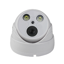 Seetong Plastic dual – lamp hemisphere P2P Onvif H.265 night vision security IP camera infrared indoor surveillance cameras UC