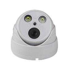 Seetong Plastic dual – lamp hemisphere P2P Onvif H.265 night vision security IP camera infrared indoor surveillance cameras UC