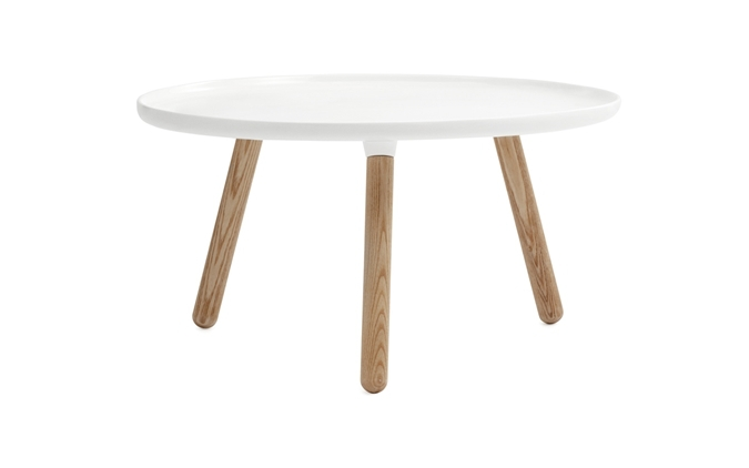 Tablo Side Table DIA78*H43 CM Fiberglass Table Top Ash Wood Legs In Coffee  Tables From Furniture On Aliexpress.com | Alibaba Group
