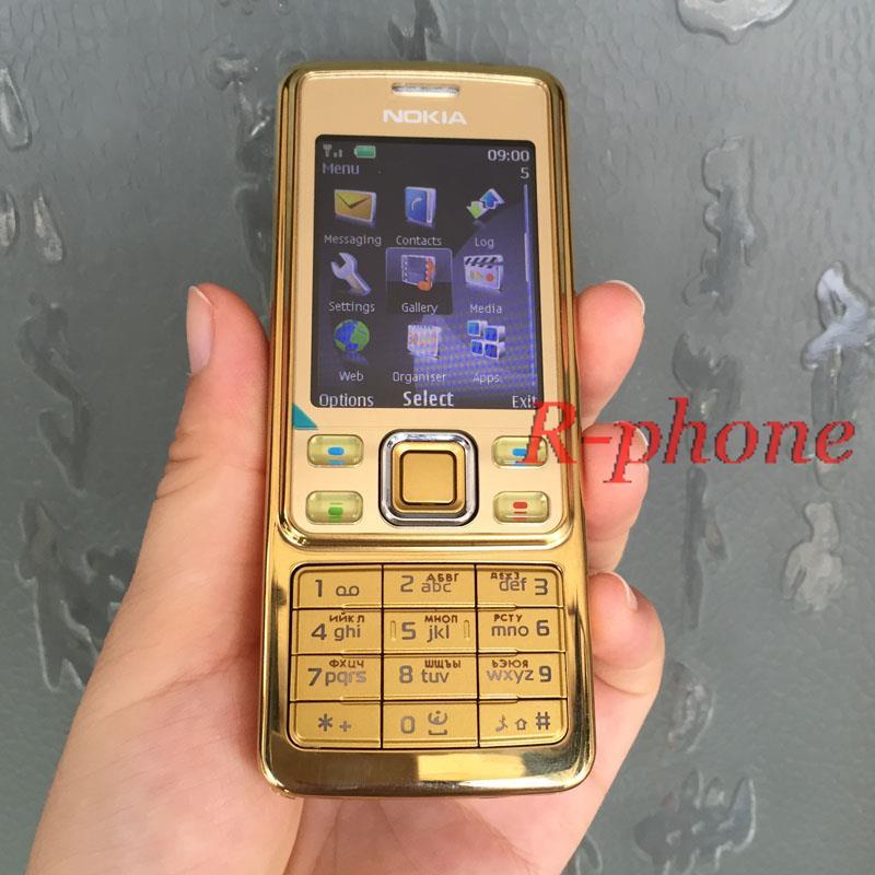 Мобильный телефон Nokia 6300, классический мобильный телефон, 6300 золото, один год гарантии, русская клавиатура, арабская клавиатура