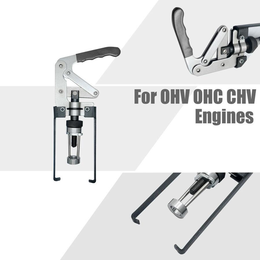 Воздушный клапан пружинный компрессор OHV/OHC/CHV Уплотнение двигателя Хранитель инструмент для удаления комплект