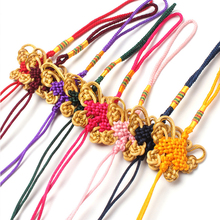 Chinese Decorative Knots Pendants 20 pcs Knot DIY Tassel Fringe Bow Nylon Thread New Year Gifts