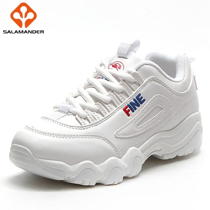 SALAMANDER Spring 2018 New Women Running Shoes Woman Brand Run Sport Shoes For Women Outdoor Athletic Walking Women's Sneakers