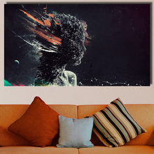 Wall Art Face explosion forms surrealism Wall Painting poster Home Decorative Art Pictures Paint on Canvas Prints no frame(China)
