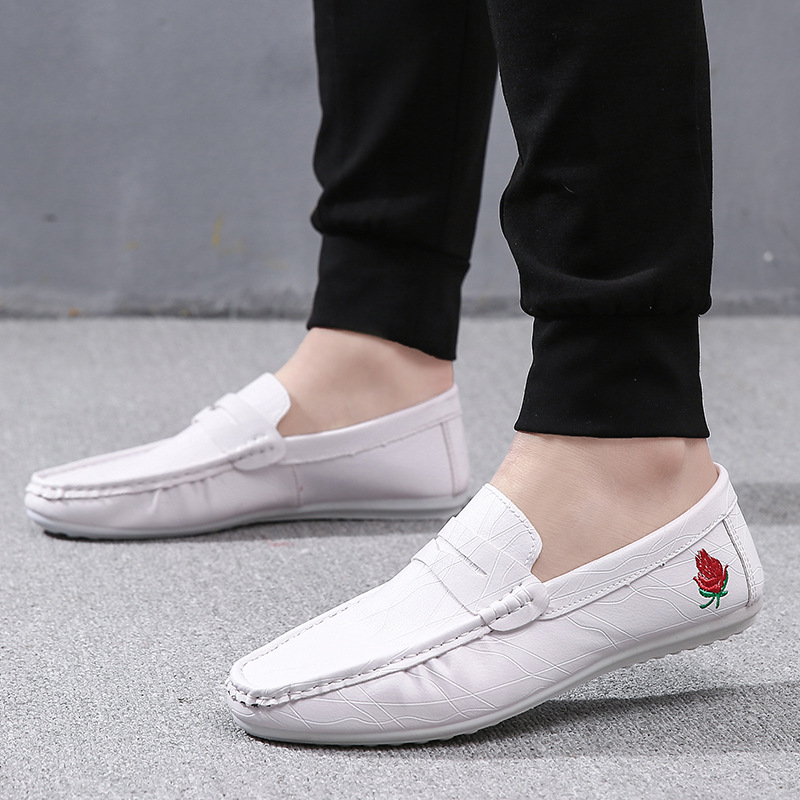 2019 summer new peas shoes mens Korean version of the trend lazy a pedal
