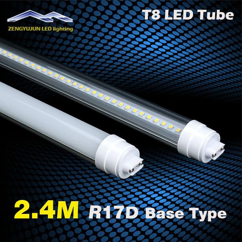 5000k Color Temperature 8FT R17 LED Tube Light 320pcs LED ...