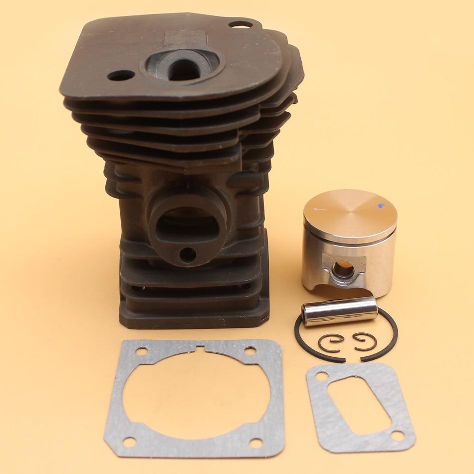 все цены на 42mm Cylinder Piston Gasket Kit For HUSQVARNA 340 345 Chainsaw Engine Motor Parts онлайн