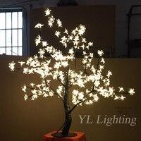 220 В 240 В 2 шт./лот 0,8 м рождественские украшения светодио дный Led дерево свет с 3 цветами изменение для отдыха дома и на открытом воздухе