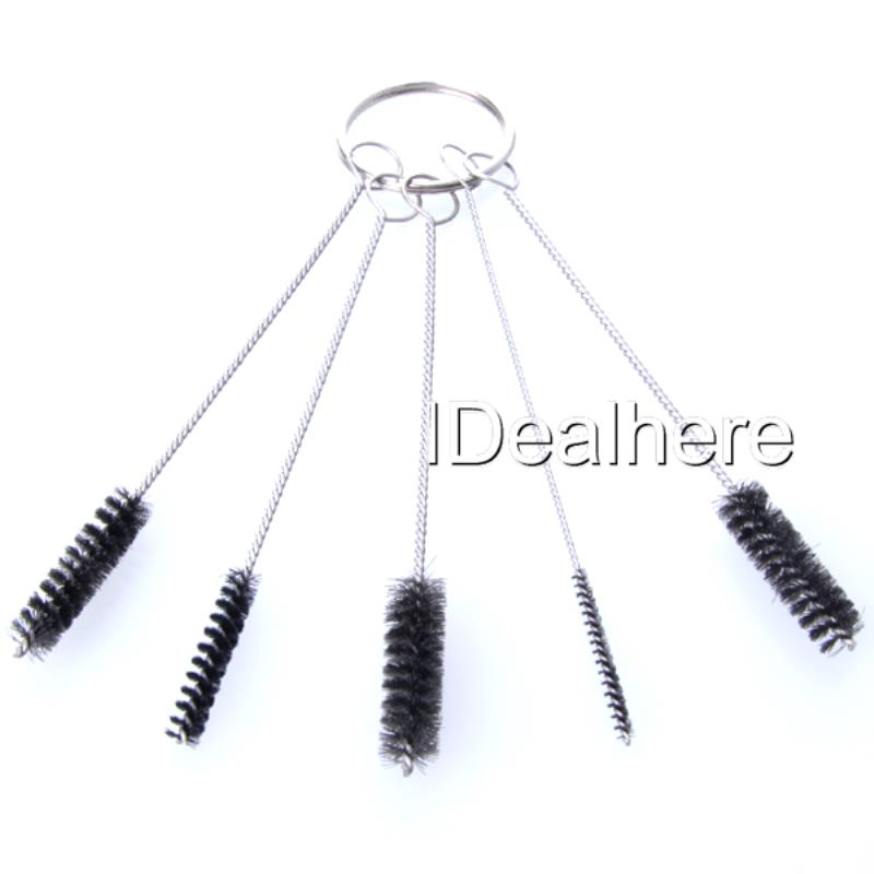 Shellhard 5Pcs Different Sizes Tattoo Airbrush High Quality Tattoo Cleaning Brush Kit For Tattoo Cleaning Tools thumbnail