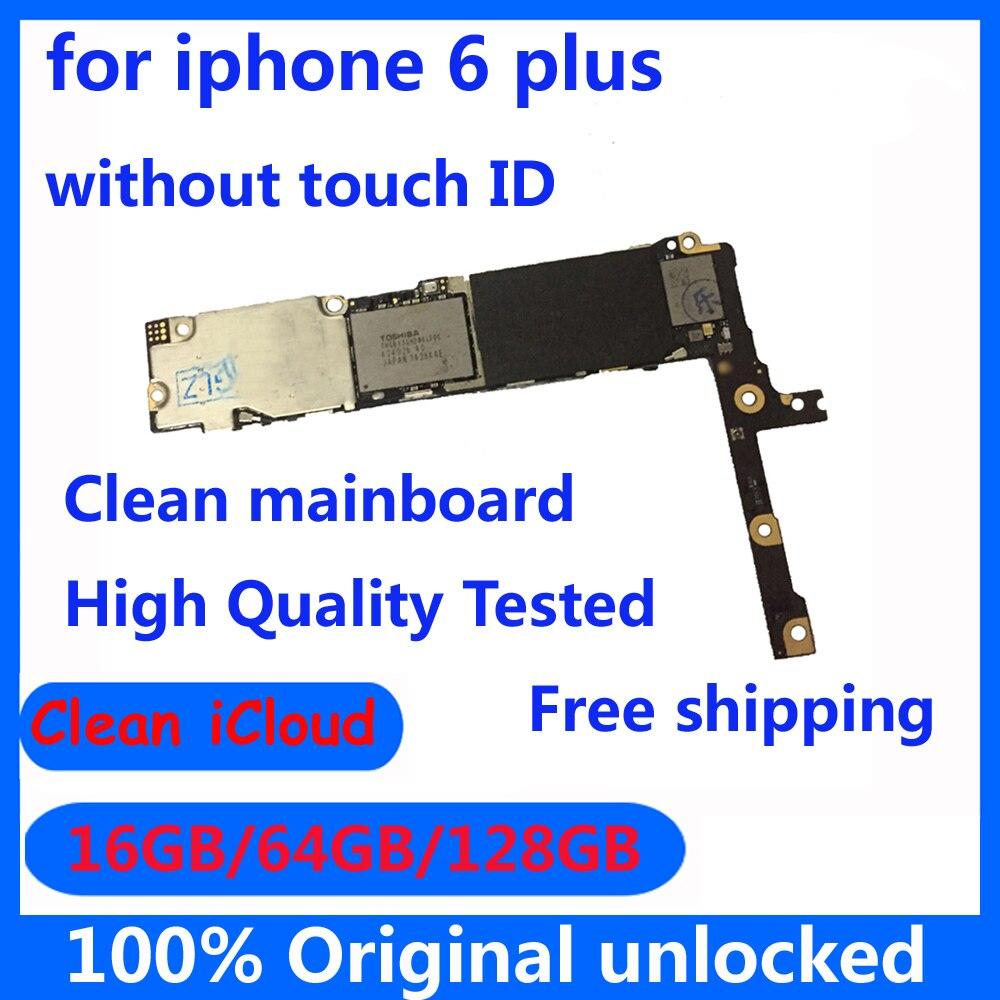 Чистая материнская плата iсloud для iPhone 6 Plus 6 p 16gb 64gb 128gb IOS системная плата без сенсорного ID высокое качество логическая плата|Антенны для мобильных телефонов|   | АлиЭкспресс