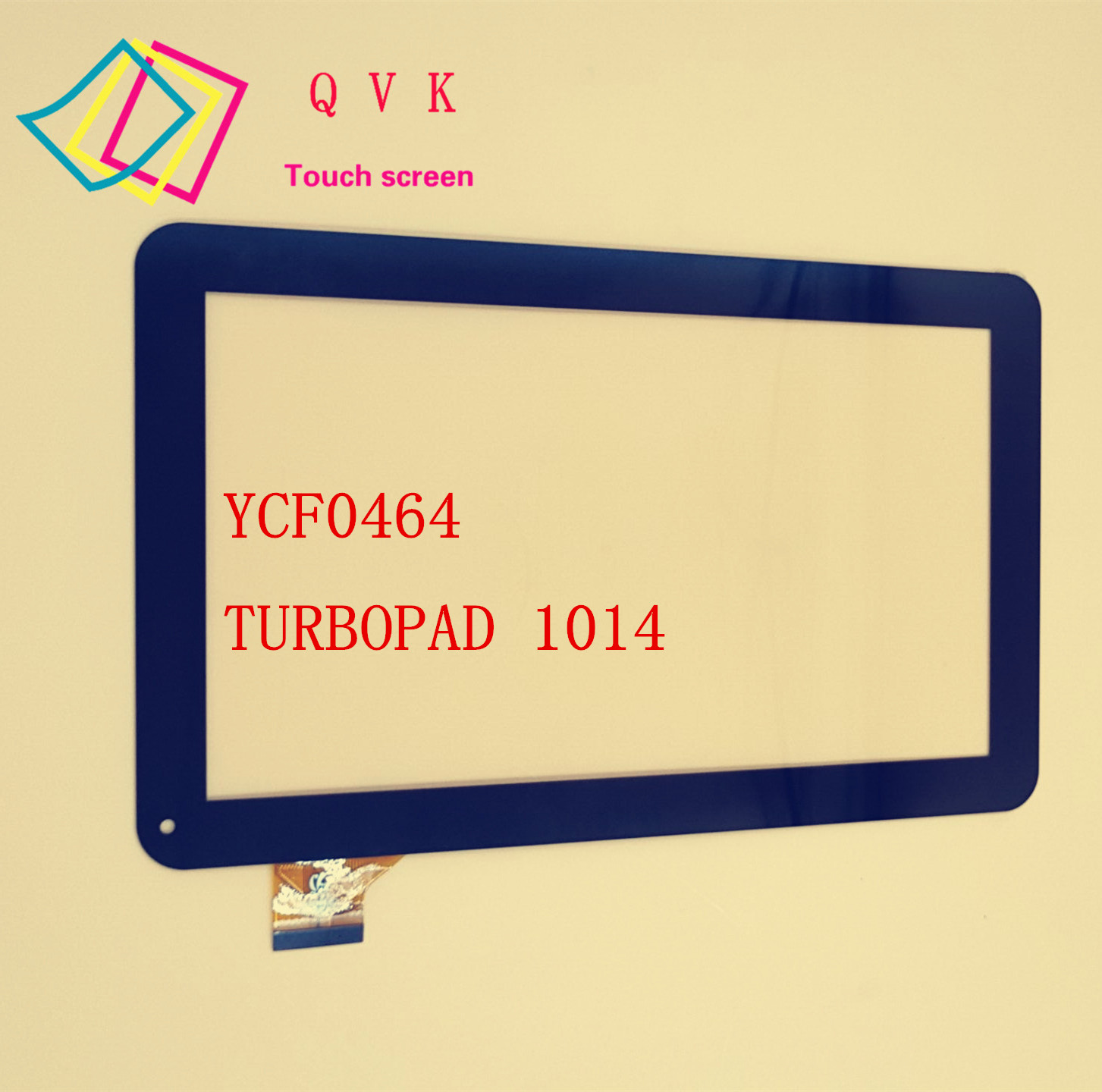 Brand New 10 1 Capacitive YCF0464 A for TURBOPAD 1014 Digma ids10 Touch Screen Panel Touchscreen