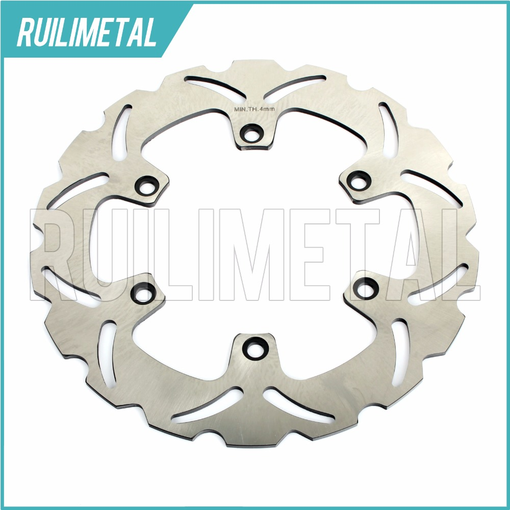 Front Brake Disc Rotor for HONDA CBF/CBF N 600 S ABS NTV 680 DEAUVILLE 2006 2007 2008 2009 2010 2011 2012 06 07 08 09 10 11 12 abs chrome front grille around trim for ford s max smax 2007 2010 2011 2012