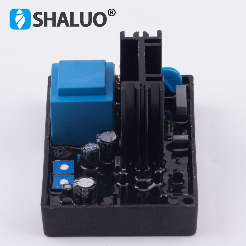 GB100 фазы соединения возбуждение генератора AVR кисти генераторной установки части автоматический регулятор напряжения Стабилизаторы схема 220 v