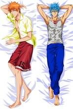 Anime Cartoon bleach Peach Skin Double-sized   hugging Pillow Case Cover No.58062