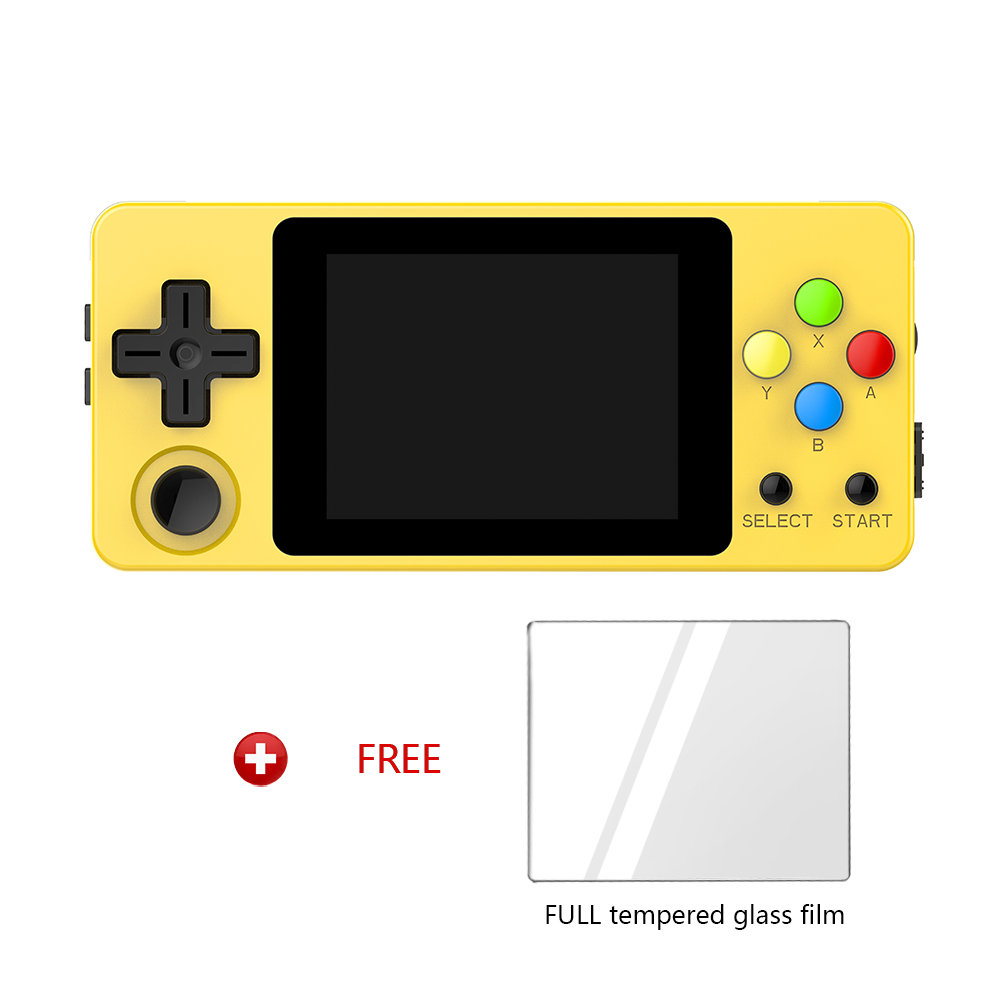 OPEN SOURCE CONSOLE LDK Horizontal version LandScape game 2.6inch Screen Mini Handheld Family Retro Games Console dial vision adjustable lens eyeglasses