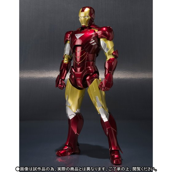 IRONMAN 2 Original BANDAI Tamashii Nations SHF S.H.Figuarts Exclusive Action Figure - Iron Man Mark 6 MK-6 & Hall of Armor SET anime captain america civil war original bandai tamashii nations shf s h figuarts action figure ant man