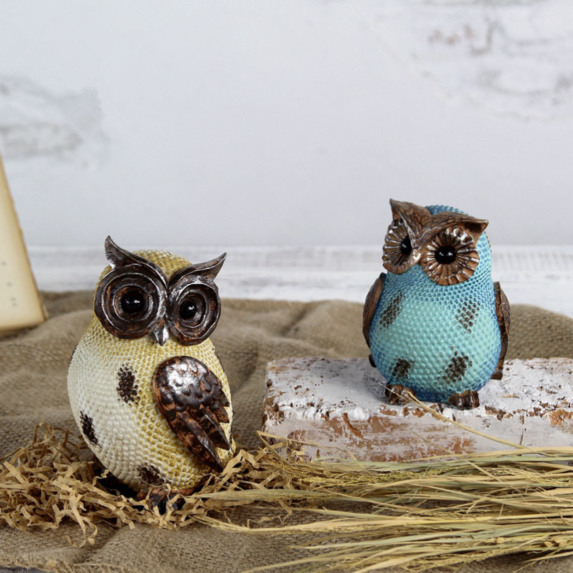 Hot!  Popular Minimalist Cute Owl Home Decorations Ceramics Owl Accessories Living Room Ornaments Crafts , Best Gift