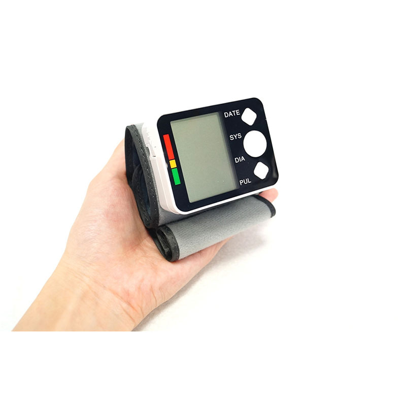Automatic Blood Pressure Monitor Large LCD Digital Sphygmomanometer Health Care Heat Rate Monitor Arm Adult Blood Pressure Cuff  (2)