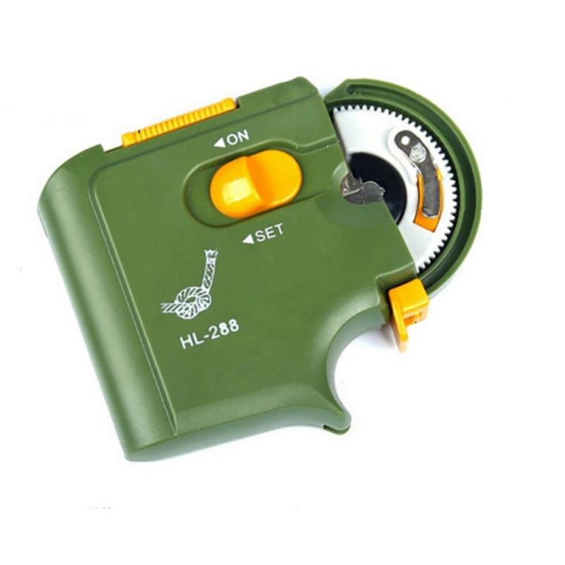 Автоматический портативный Электрический рыболовный крючок, машина, рыболовные принадлежности с крючком для быстрой рыбалки, привязывающее оборудование|Рыболовные крючки|   | АлиЭкспресс