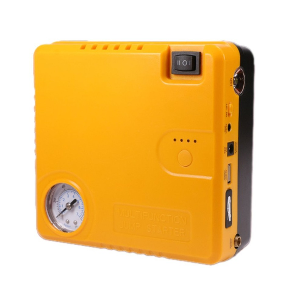 купить TM16B 16800mAh Car Starting Device Power Bank Car Charger Booster Emergency Battery Quick Starter Electric Inflatable Pump по цене 5402.4 рублей