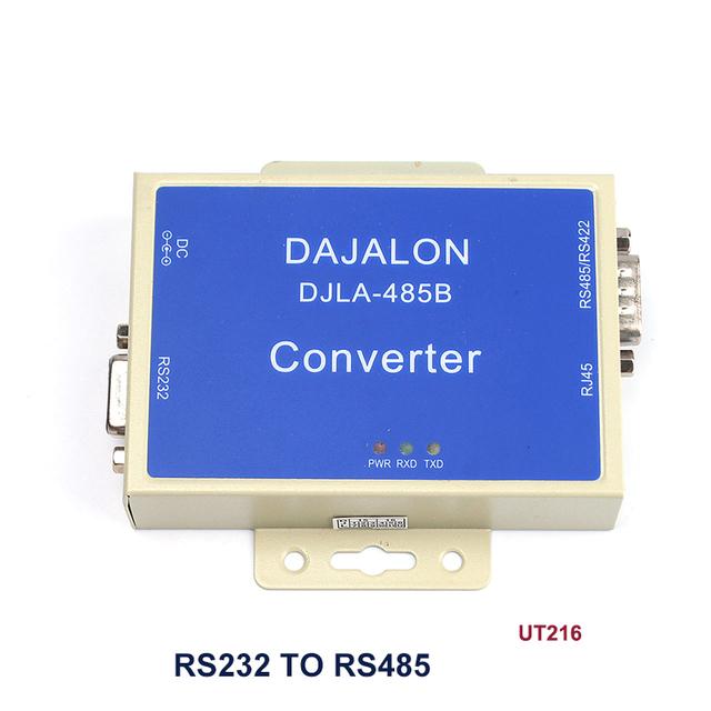 Chegada nova Externo-powered RS-232 para RS-485/422 Conversor de Interface Relâmpago proteção #76045