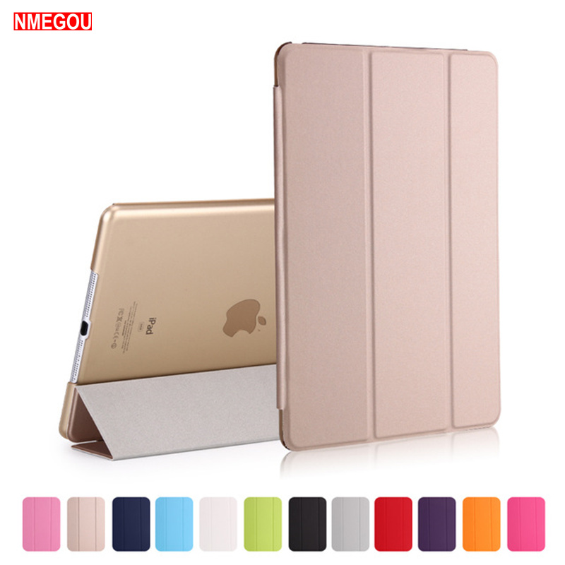 NMEGOU Luxury Tablet Shockproof Smart Leather Stand Case Cover for Apple Ipad for I