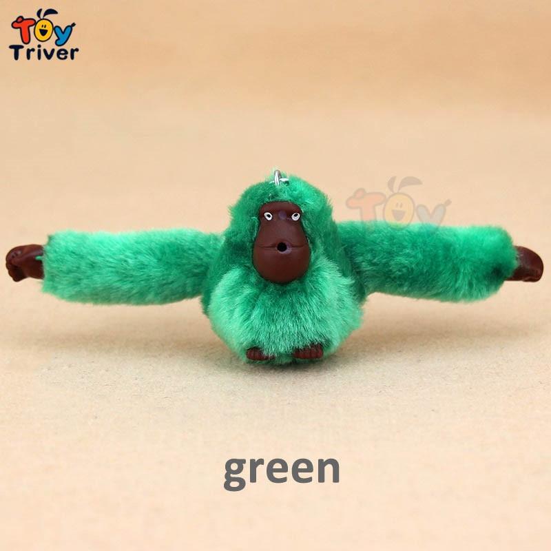 Triver Jouet Singe Gorille poupée téléphone portable Automobile porte-clés pendentif Accessoires en peluche jouets Pour sac à main Sac À Main Porte-Monnaie