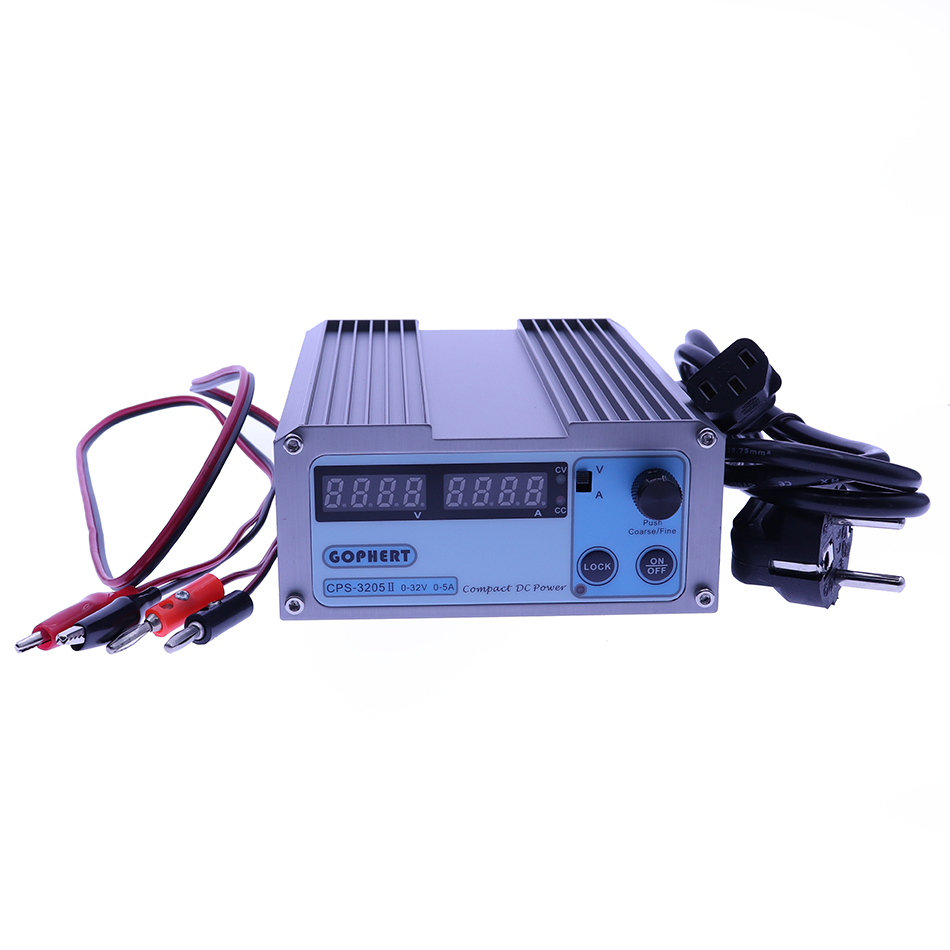 CPS 3205II DC Power Supply adjustable Digital Mini Laboratory power supply 32V 5A 0.01V 0.001A Voltage Regulator dc Power Supply cps 3205ii compact mini variable adjustable dc power supply 0 32v 0 5a ac110 240v