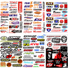 FASP Fashion Bicycle Motorcycle Car Sticker  Graffiti Snowboard Luggage Bag Laptop Helmet Skateboard Guitar Vinyl Decal 2 pcs