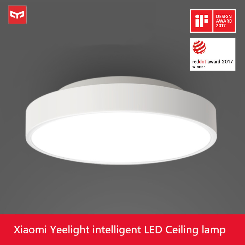 Original Xiaomi Yeelight LED Ceiling Light 5 Mins Fast Installation Cozy Moonlight IP60 Dustproof Work With