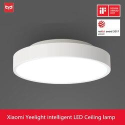 Original Xiaomi Yeelight LED Ceiling Light 5 Mins Fast Installation Cozy Moonlight IP60 Dustproof Work With MIJIA WI-FI Enabled