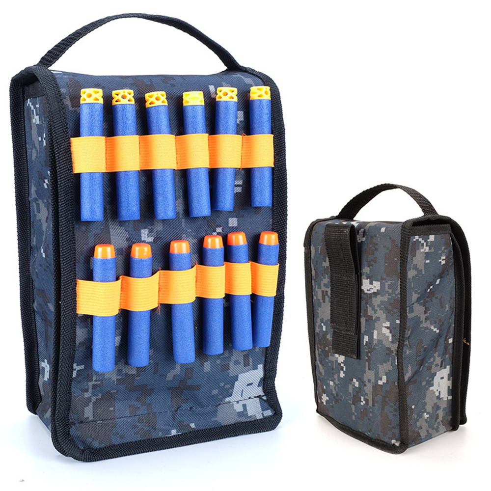 Refill Clip Darts Bullets Bag Storage Carrying Pouch Supplementary Bag Tactical Cartridge Pack For Nerf Elite Series