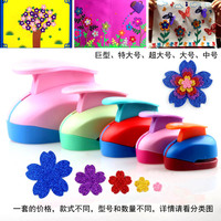 Craft Punches Set with Different Sizes Paper Punch Shaped Flower Puncher Craft Tools Cutter Card Making