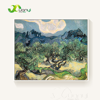 The Olive Trees Landscape Van Gogh Oil Painting Reproductions Abstract Handpainted Painting Wall Pictures For Bed Room Unframed