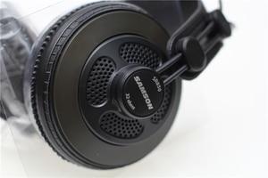 Image 2 - Original Samson SR850 professional monitor Headphone Semi open Studio Headset one pair two pieces package