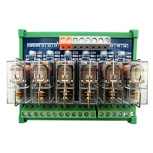 цена на 6-way relay module omron OMRON multi-channel solid state relay plc amplifier board