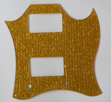 KAISH SG Full Face Pickguard Scratch Plate for Gibson SG Special Guitar Gold Sparkle