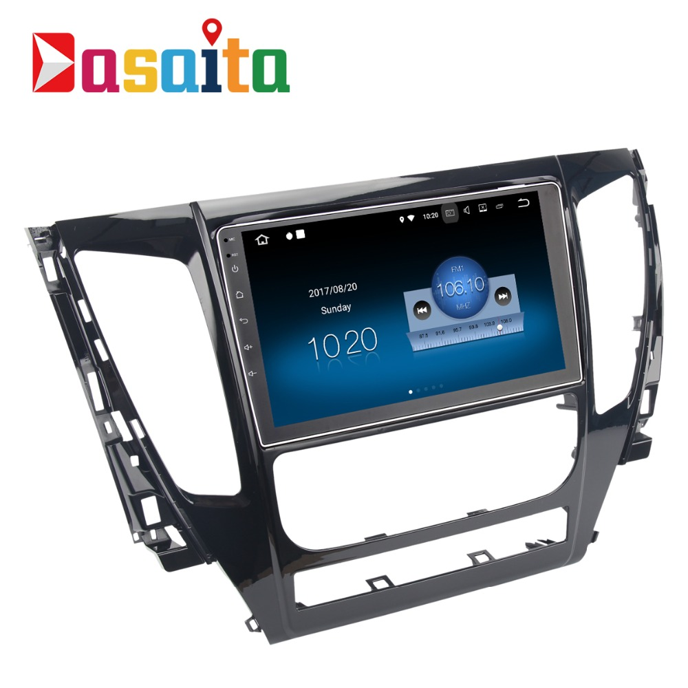 Dasaita 9 Android 8 1 Car GPS Player Navi for Mitsubishi Pajero Sport 2017 with 2G
