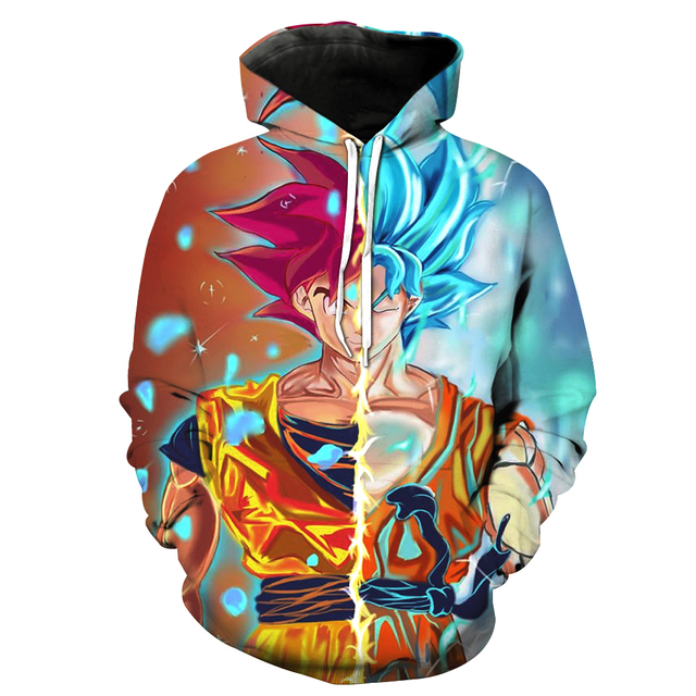 Super Saiyan Rose Blue Goku Sweater