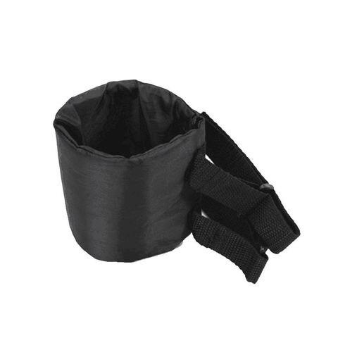 preto nylon saco do recipiente roll bar beber suporte de copo de agua carro correias