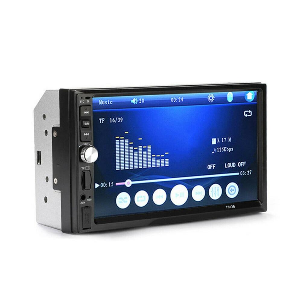 Lecteur de voiture MP5 FM AUX USB 2din Radio stéréo caméra HD basse et aigus fournitures de voiture 7 pouces stabilisateur d'écran Bluetooth