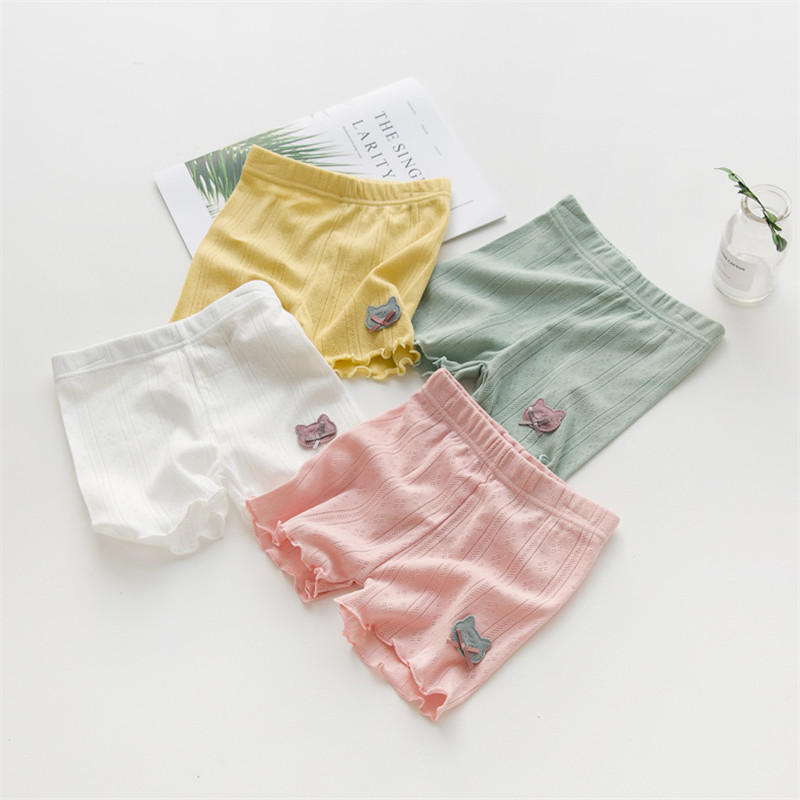 High Quality Safety   Short   Pants Underwear Leggings Girls Briefs   Short   Pants For Children 3-9 years Baby Girls   Shorts
