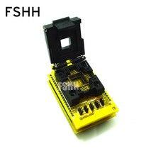 HEAD-MTVX12M-PL Adapter HI-LO GANG-08 Programmer PLCC44/IC SOCKET(Flip test seat)