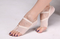 2016 Belly Dance Foot Pad Men And Women Wear Elastic Finger Soft Bottom Shoe Insoles Polyester