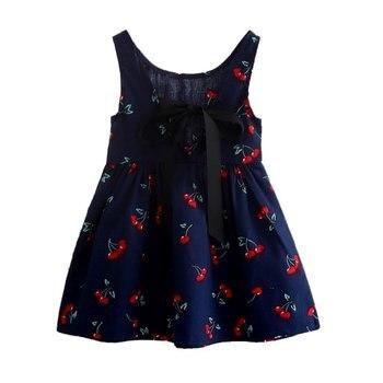 Newest Style Summer Baby Kid Cotton Vest Princess Girls Dress Newborn Infant Sundress Clothes conjuntos casuales para niñas