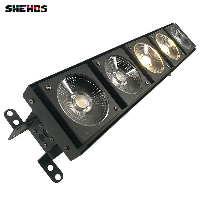 LED Matrix 5x30W Warm White Stage Lighting DMX512 for DJ Party Show LED COB Lights with LED Chips Point control Horse Race Lamp