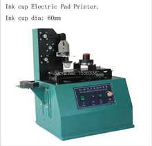 seal ink cup tabletop electric pad printer
